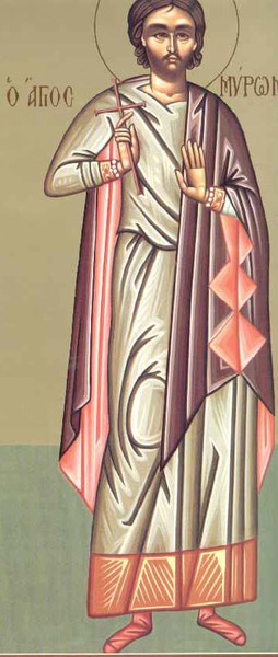 Sfantul Mucenic Miron Criteanul