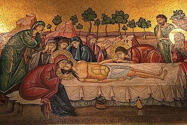 Biserica Sfantului Mormant - Punerea in Mormant