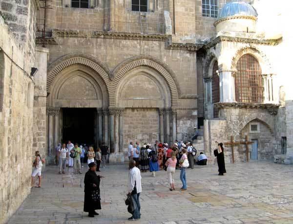 Biserica Sfantului Mormant - Curtea Interioara