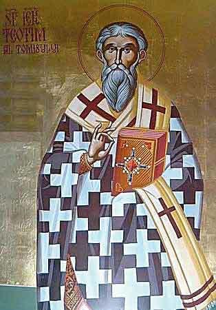Sfantul Teotim, Episcopul Tomisului