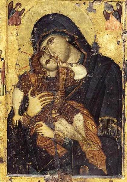 Manastirea Filoteu - Maica Domnului Glicofilusa