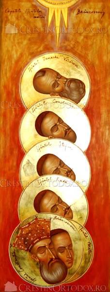 Capetele Sfintilor Martiri Brancoveni