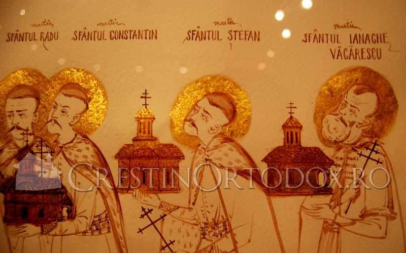 Sfantul Radu, Constantin, Stefan si Ianache