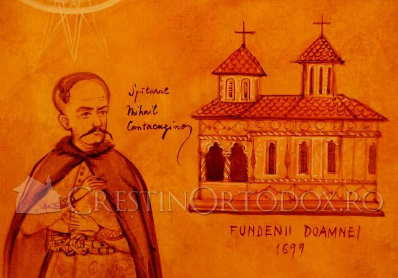 Spatarul Mihail Cantacuzino - Biserica Sfantul Eftimie