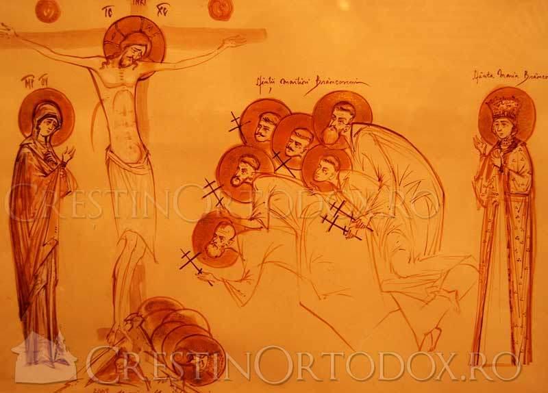 Rastignirea lui Iisus si Martiriul Brancovenilor