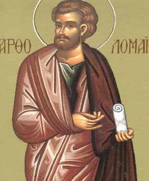 Sfantul Apostol Vartolomeu; Sfantul Luca al Crimeii