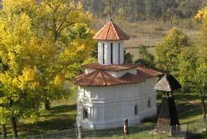 Manastirea Cosoteni - Biserica Sfantul Dumitru
