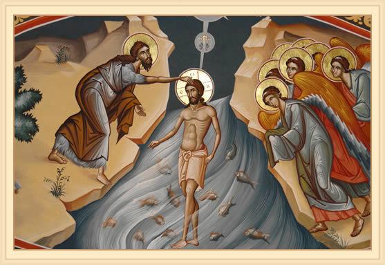 Botezul - inviere din morti si nastere din nou