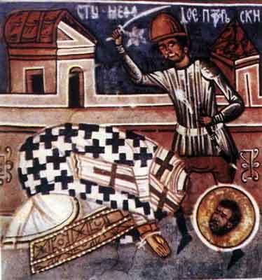 Sfanta Treime; Sfantul Mucenic Metodie, Episcopul Patarelor
