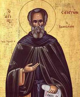 Sfantul Cuvios Samson, primitorul de straini