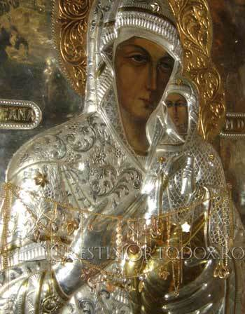 Icoana Sfintei Ana de la Manastirea Almas