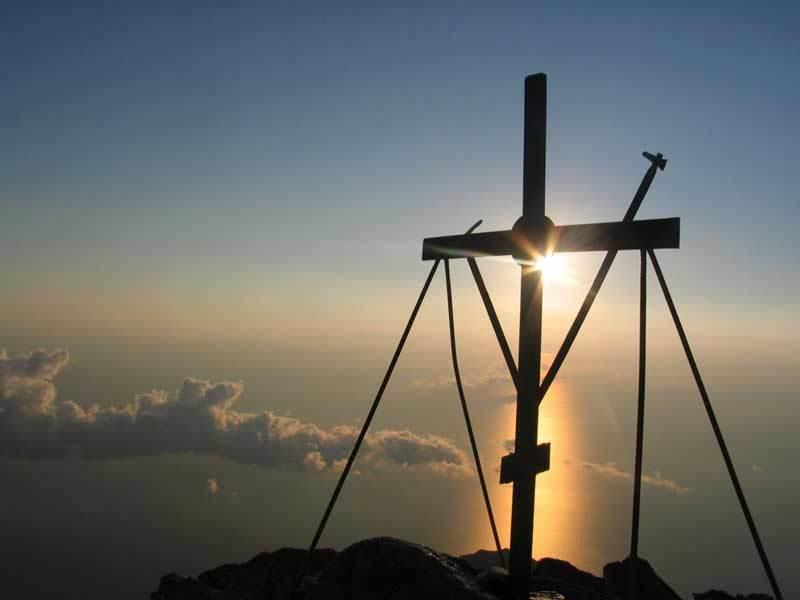 Sfanta Cruce pe Sfantul Munte Athos