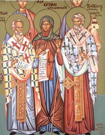 Sfintii Prohor, Nicanor, Timon si Parmena