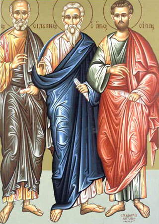 Sfintii Apostoli Sila, Silvan, Crescent, Epenetos si Andronic; (Lasatul secului pentru Postul Sfintei Marii)