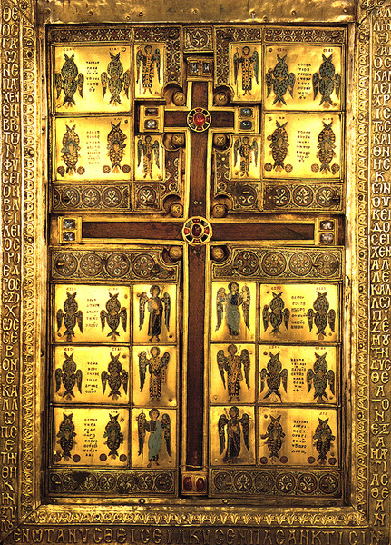 Scoaterea cinstitului lemn al Sfintei Cruci
