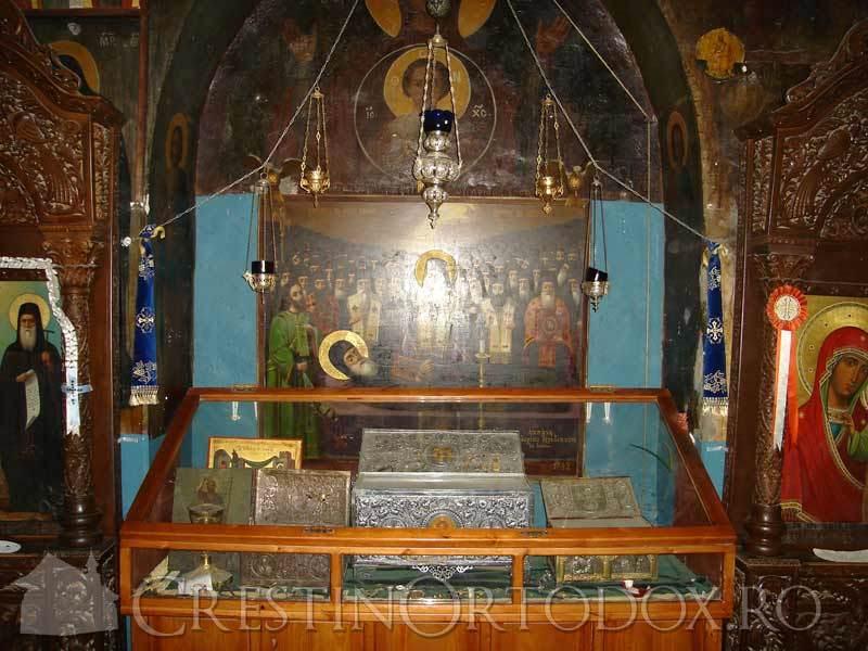 Moastele Sfantului Gheorghe Hozevitul - Hozeva