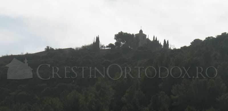 Manastirea de pe Muntele Tabor