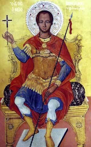 Sfantul Nicolae cel Nou - Martirul din Vounena