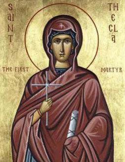 Sfanta Mucenita Tecla; Sfantul Siluan Athonitul