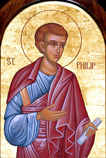 Sfantul Apostol Filip, unul din cei sapte diaconi