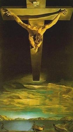 Salvador Dali - Rastignirea Fiului, asa cum a vazut-o Tatal