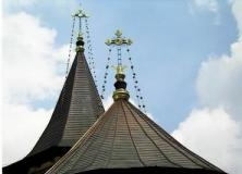 Ajutati la construirea Bisericii Adormirea Maicii Domnului din Dobra - Dambovita