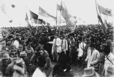 1918, anul binecuvantarii