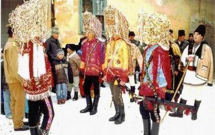 Traditii de iarna in Oltenia