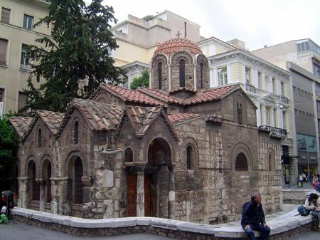 Biserica Maicii Domnului - Kapnikarea