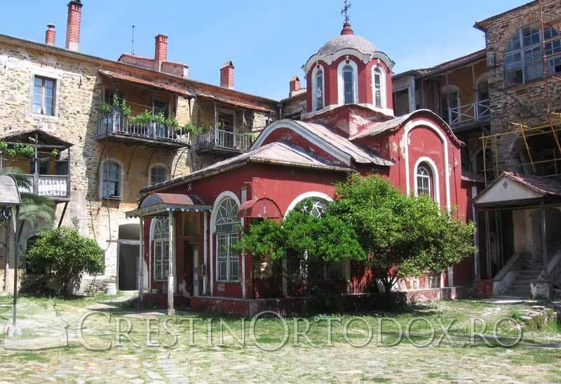 Manastirea Iviron - Paraclisul de la Poarta