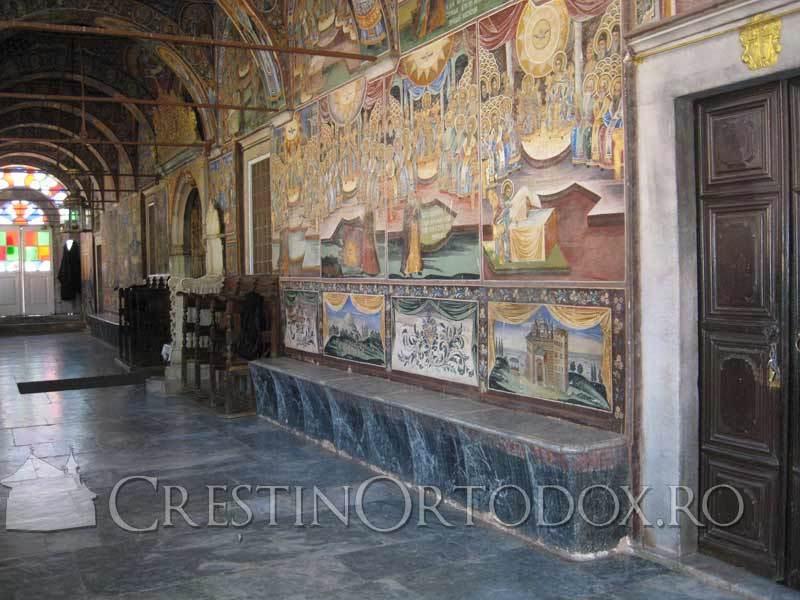 Marea Lavra din Athos - Pridvorul cu Fresca