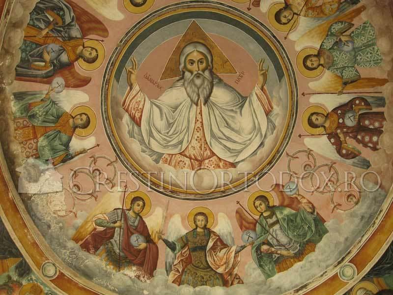 Manastirea Pantocrator din Athos - Fresca