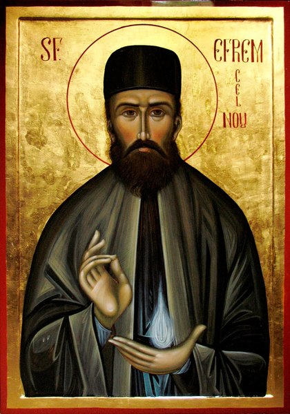 Chemarea sfintilor: Sfantul Efrem cel Nou