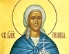 Sfanta Pelaghia cea nebuna pentru Hristos, de la Manastirea Diveevo