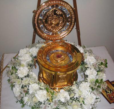 Sfantul Nectarie la parohia