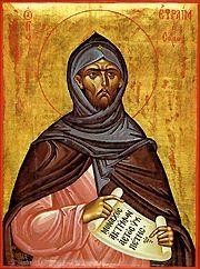Sfantul Efrem Sirul, robul Domnului