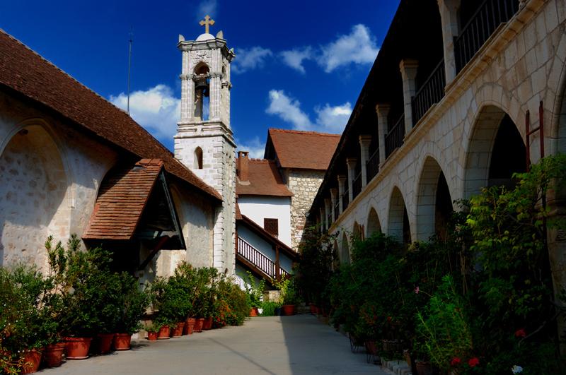 Manastirea Chrysorrogiatissa - Cipru
