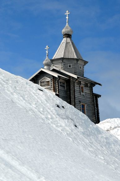 Biserica Sfanta Treime din Antarctica
