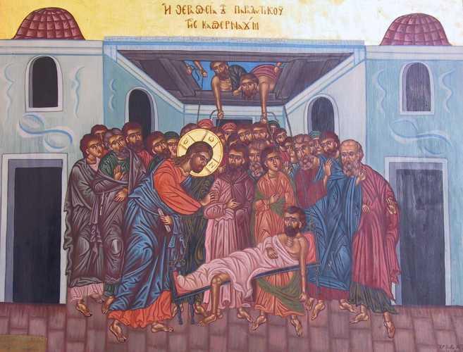 Duminica a VI-a dupa Rusalii - Vindecarea slabanogului din Capernaum