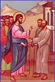 Duminica a VII-a dupa Rusalii - Vindecarea a doi orbi si a unui mut din Capernaum