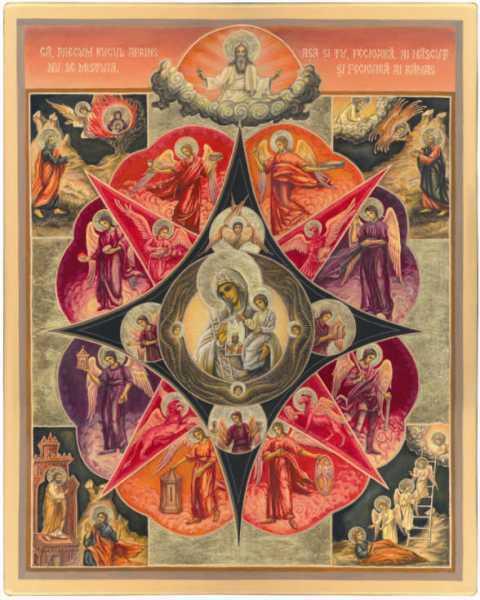 Rugul Aprins de la Manastirea Antim din Bucuresti