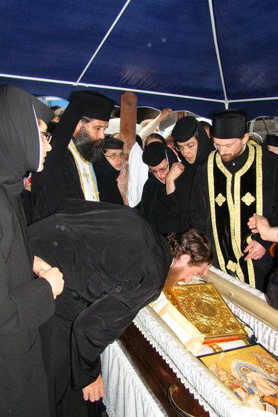 Inmormantarea Parintelui Arhimandrit  Arsenie Papacioc