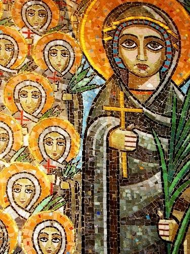 Sfanta Damiana si cele 40 de Fecioare