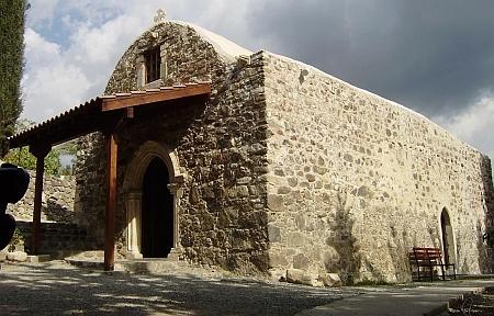Manastirea Izvorul Tamaduirii - Panagia Amirou