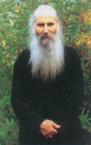 Parintele Iacov Tsalikis de la Manastirea Sfantul David
