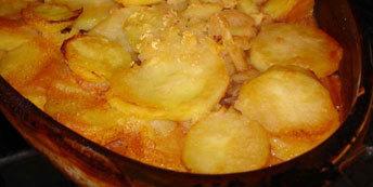 Musaca de cartofi cu vinete
