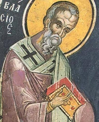 Sfantul Vlasie, episcopul din Sevasta