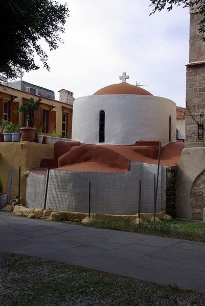 Biserica Sfantul Fanurie - Rodos