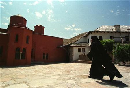 Ultima femeie care a intrat in Sfantul Munte Athos