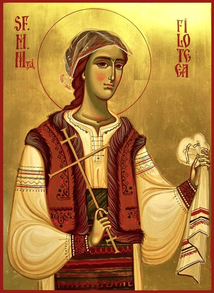 La fetita Filofteia n-a venit Mos Nicolae